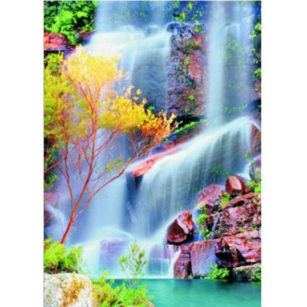 Puzzle Gold Puzzle - Waterfall 1.000 piese (Gold-Puzzle-60034)