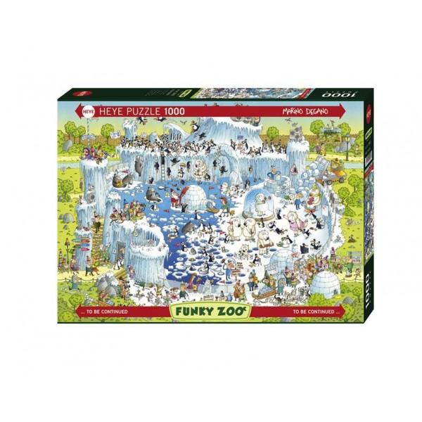 Puzzle Heye - Marino Degano: Polar Habitat 1.000 piese (51784)
