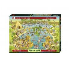 Puzzle Heye - Marino Degano: Nile Habitat 1.000 piese (51785)