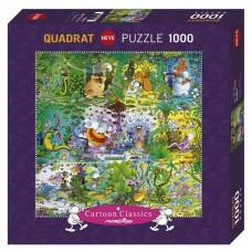 Puzzle Heye - Guillermo Mordillo: Wildlife 1.000 piese (57755)