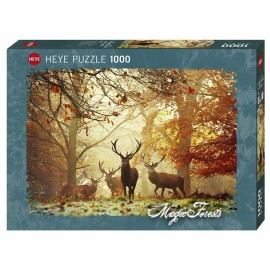 Puzzle Heye - Alex Saberi: Magic Forests Stags 1.000 piese