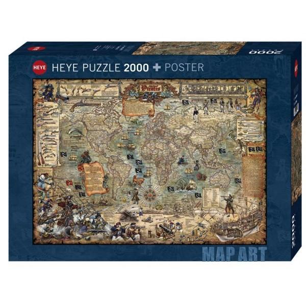 Puzzle Heye - Pirate World 2.000 piese (65189)