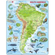 Puzzle Larsen - South America 65 piese (48693)