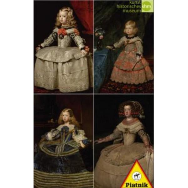Puzzle Piatnik - 1000 de piese - Velasquez - Spanish princesses