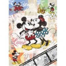 Puzzle Ravensburger - 500 de piese - Disney - Michey retro