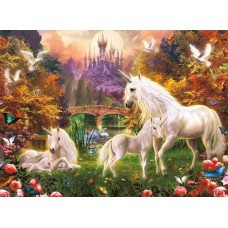 Puzzle Ravensburger 500 Unicorni