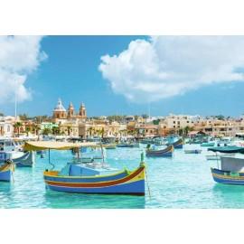 Puzzle Ravensburger 1000 Malta mediteraneana