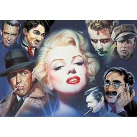 Puzzle Schmidt 1000 Renato Casaro : Marilyn Monroe and Friends---