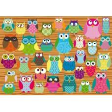 Puzzle Schmidt - 500 de piese - Owls