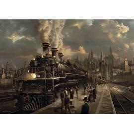 Puzzle Schmidt - 1000 de piese - Sarel Theron : Locomotiva