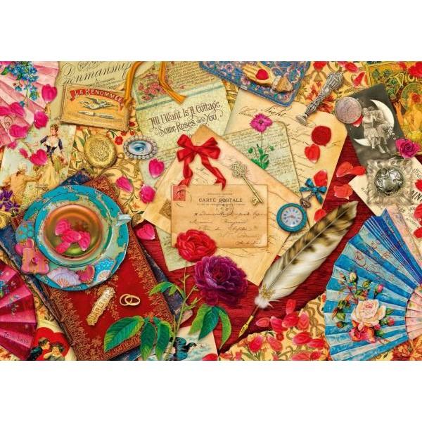 Puzzle Schmidt - 1000 de piese - Vintage love letters