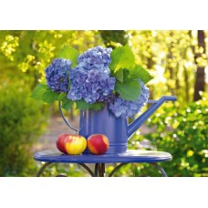 Puzzle Schmidt - 500 de piese - WATERING CAN WITH HORTENSIA