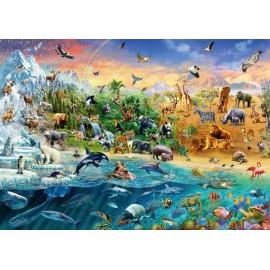 Puzzle Schmidt - 1000 de piese - Animal Kingdom