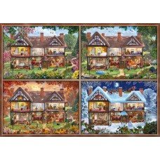 Puzzle Schmidt 2000 House Of Four Seasons