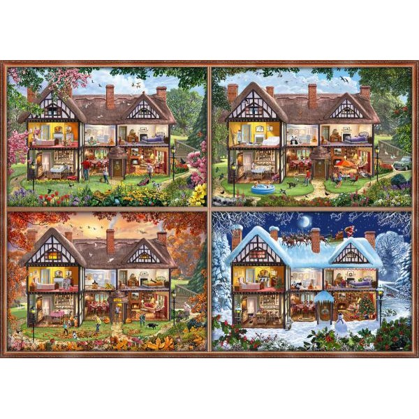 Puzzle Schmidt - House Of Four Seasons 2.000 piese (58345)