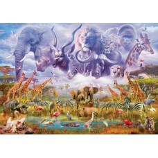 Puzzle Schmidt 1000 Animals At The Waterhole