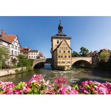 Puzzle Schmidt 1000 Bamberg Regnitz and old town hall