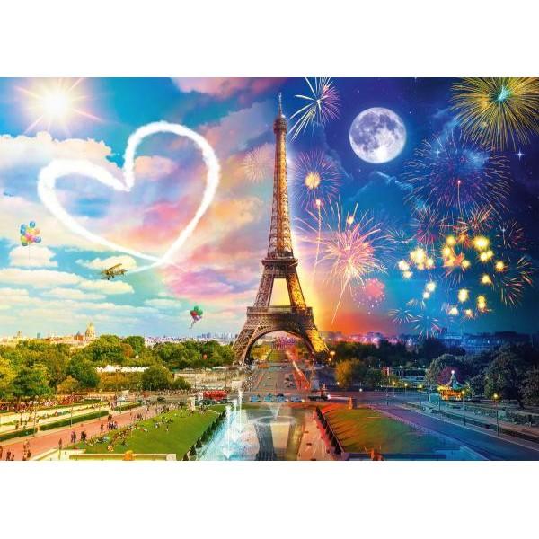 Puzzle Schmidt 2000 Paris day and night