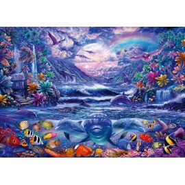 Puzzle Schmidt 1000 Moonlight oasis