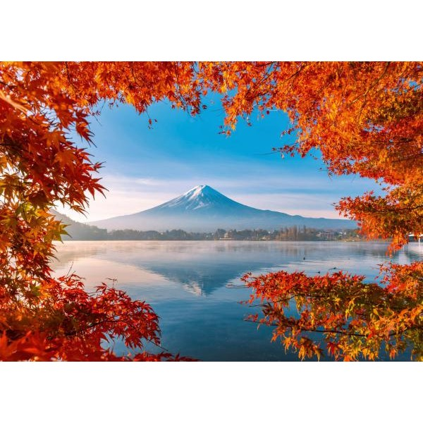 Puzzle Schmidt 1000 Autumn splendor of Mount Fuji