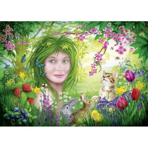 Puzzle Schmidt - 1000 de piese - Spirit of Nature : Spring