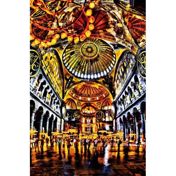 Puzzle Schmidt - 1000 de piese - Michael von Hassel : Church dome