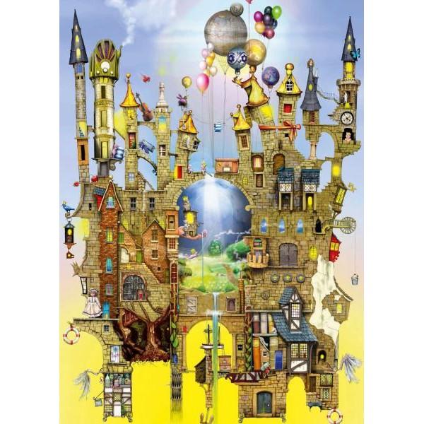 Puzzle Schmidt - 1000 de piese - Colin Thompson : Castle in the air