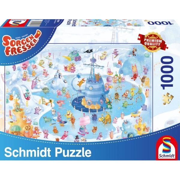 Puzzle Schmidt - 1000 de piese - SF WINTER FUN