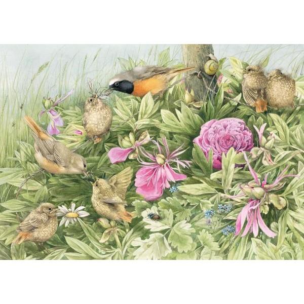 Puzzle Schmidt - 1000 de piese - Marjolein Bastin: Feast in the Meadow