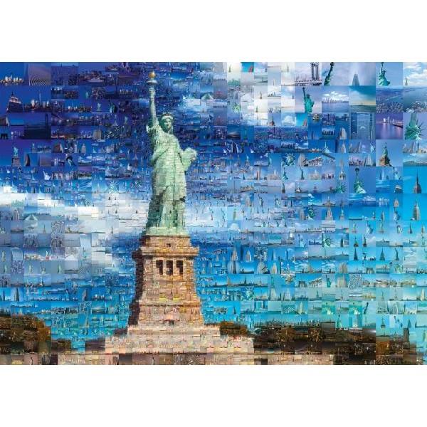 Puzzle Schmidt - 1000 de piese - Charis Tsevis: New York