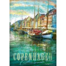 Puzzle Schmidt 1000 Patrick Reid O�Brien: Copenhaga