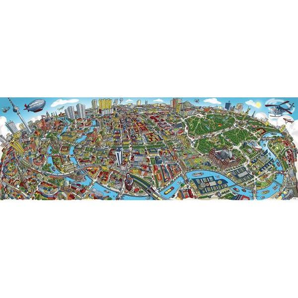 Puzzle Schmidt 1000 Braun: Berlin