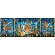 Puzzle panoramic Schmidt - Ciro Marchetti: Underwater World 1.000 piese (59613)