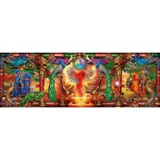 Puzzle panoramic Schmidt - Ciro Marchetti: Kingdom Of The Firebird 1.000 piese (59615)