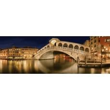 Puzzle panoramic Schmidt - Manfred Voss: Rialto Bridge 1.000 piese (59620)