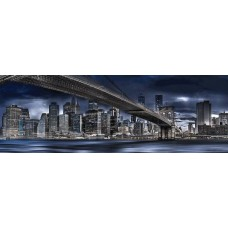 Puzzle panoramic Schmidt - Manfred Voss: New York Dark Night 1.000 piese (59621)