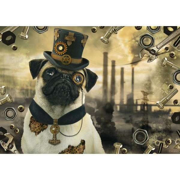Puzzle Schmidt 1000 Markus Binz : Steampunk dog