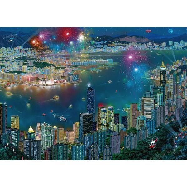 Puzzle Schmidt 1000 Alexander Chen: Fireworks over Hong Kong