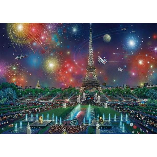 Puzzle Schmidt 1000 Alexander Chen: Fireworks at the Eiffel Tower