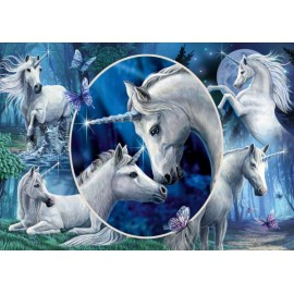 Puzzle Schmidt 1000 Lisa Parker: Charming unicorns