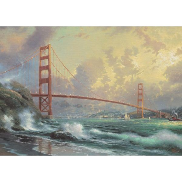 Puzzle Schmidt 1000 Thomas Kinkade : Golden Gate Bridge---