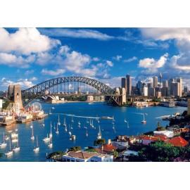 Puzzle Trefl - 1000 de piese - Port Jackson, Sydney