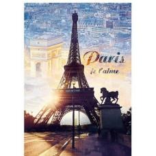 Puzzle Trefl - 1000 de piese - Paris at dawn