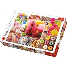 Puzzle Trefl - Candy Collage 1.000 piese (61517)