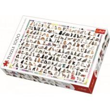 Puzzle Trefl - 208 Cats 1.000 piese (10498)