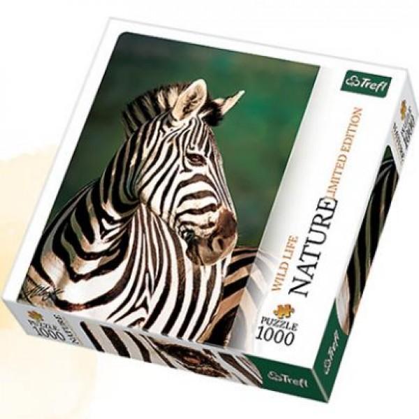 Puzzle Trefl - 1000 de piese - Nature - Zebra
