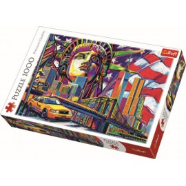 Puzzle Trefl - Colours of New York 1.000 piese (10523)