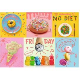 Puzzle Trefl - Neon Color Line - Sweet Week 1.000 piese (10580)