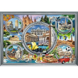 Puzzle Trefl 1000 City break Italia