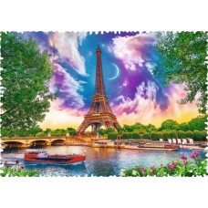 Puzzle Trefl - Crazy Shapes - Sky over Paris 600 piese dificile (11115)